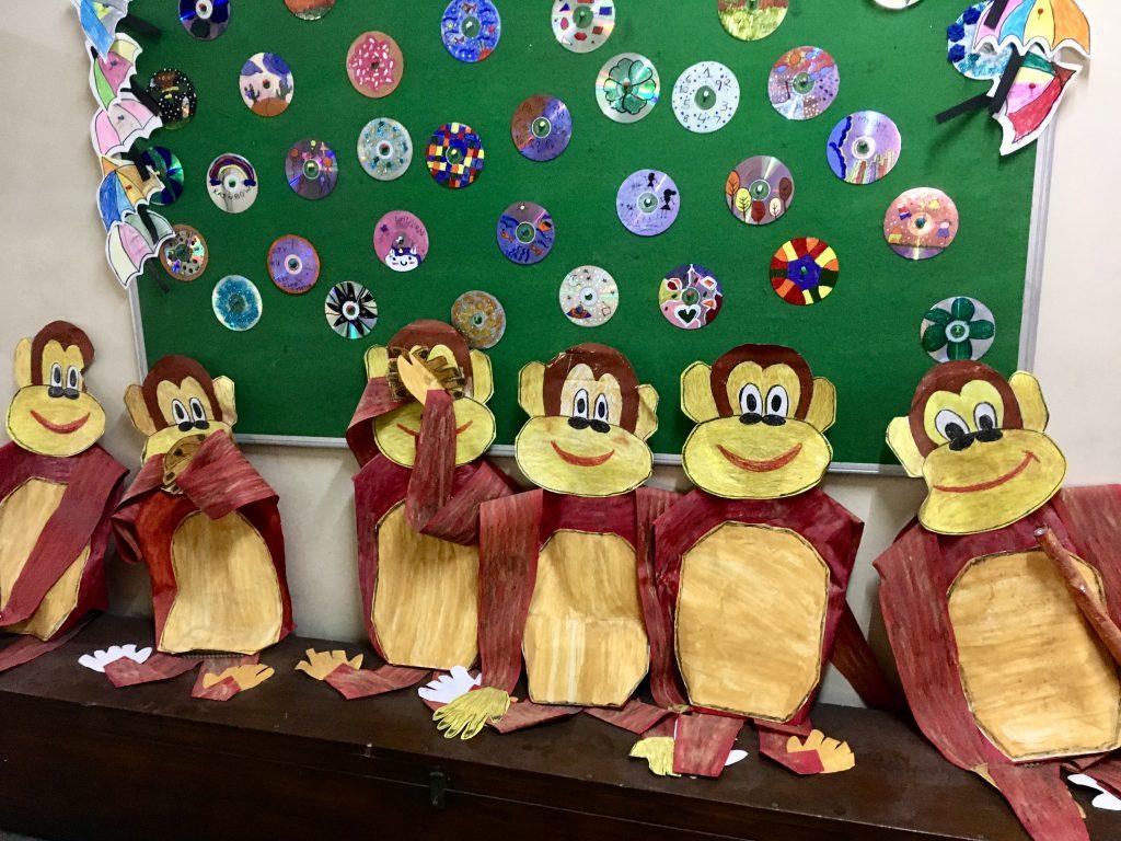 Vishram Primary School classroom in Mumbai