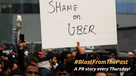 Uber's PR Blunders A list that goes on and on