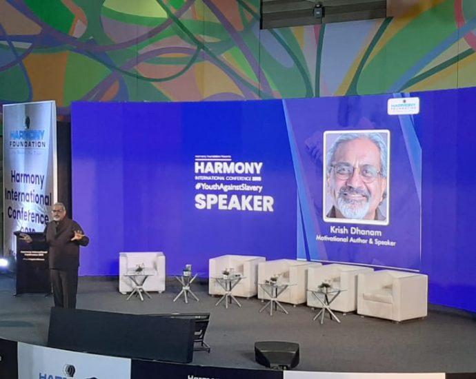 Evil has a face, says Krish Dhanam, motivational speaker