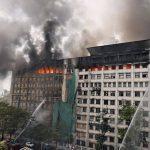 Fire at GST Bhavan Mumbai