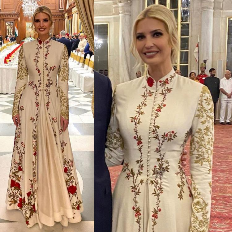 Ivanka Trump Anarkali