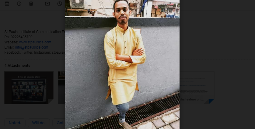 HOW SAURABH ANDRADE BECAME A SIT-DOWN COMEDIAN